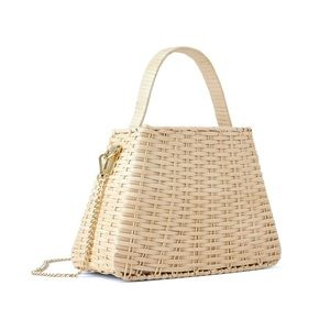Zara Natural Woven Bag